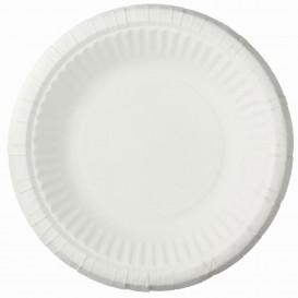 Paper Plate Deep White 19cm (1000 Units)