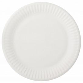 Paper Plate White 15 cm (100 Units)