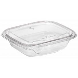Plastic Deli Container PET Tamper-Evident 375ml 14x12x4cm (84 Units)