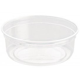 "Plastic Deli Container rPET ""DeliGourmet"" 8 Oz/237ml (500 Units)"