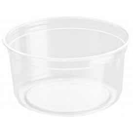 "Plastic Deli Container rPET ""DeliGourmet"" 12 Oz/355ml (500 Units)"