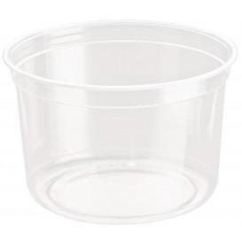 "Plastic Deli Container rPET ""DeliGourmet"" 16 Oz/473ml (500 Units)"