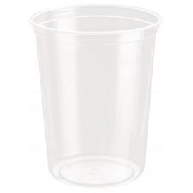 "Plastic Deli Container rPET ""DeliGourmet"" 32 Oz/946ml (500 Units)"