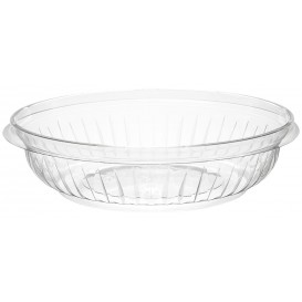 "Plastic Salad Bowl PET ""PresentaBowls"" Clear 240ml Ø15cm (63 Units)"
