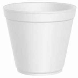Foam Container White 20 Oz/600ml Ø11,7cm (500 Units)