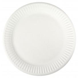 Paper Plate White 18,5 cm (100 Units)