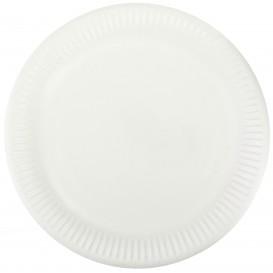 Paper Plate White 23cm (50 Units)