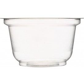 Plastic Container PS Crystal 220ml Ø9,5cm (104 Units)