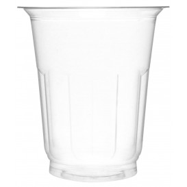 Plastic Container PET Crystal 235ml Ø8,1cm (1380 Units)