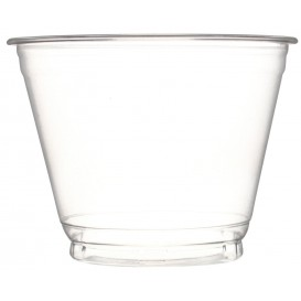 Plastic Container PET Crystal 270ml Ø9,3cm (50 Units)