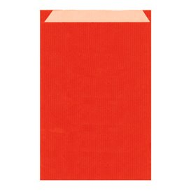 Paper Envelope Kraft Red 12+5x18cm (125 Units)