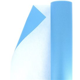 Paper Roll of Gift Wrap Cellulose Turquoise 100m (1 Unit)