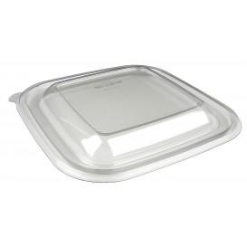 Plastic Lid for Bowl PET Heat Sealable de 12x12x7cm (50 Units)
