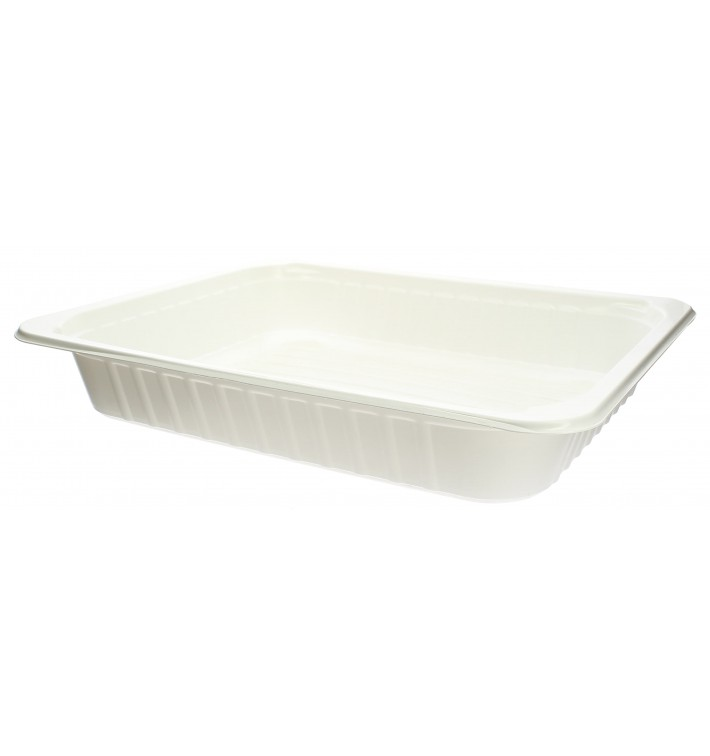 Plastic Tray PP Heat Sealable GS 1/2 28,8x23,5x5cm (20 Units)