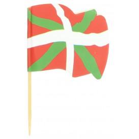 Euskadi Flag Food Pick 6,5cm (14400 Units)