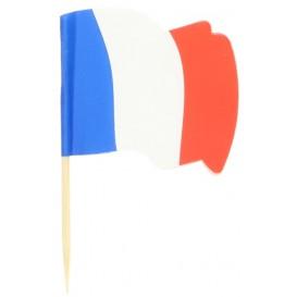 France Flag Food Pick 6,5cm (14400 Units)