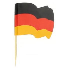 Germany Flag Food Pick 6,5cm (14400 Units)