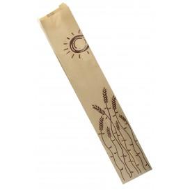 """Paper Food Bag """"Espigas"""" 9+5x50cm (100 Units)"""