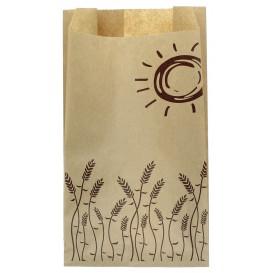 """Paper Food Bag """"Espigas"""" 12+6x20cm (250 Units)"""