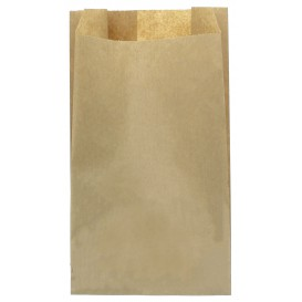 Paper Food Bag Kraft 12+6x20cm (1000 Units)
