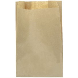 Paper Food Bag Kraft 30+9x58cm (250 Units)