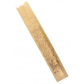 "Paper Food Bag ""Siega"" Kraft 9+5x58cm (1000 Units)"