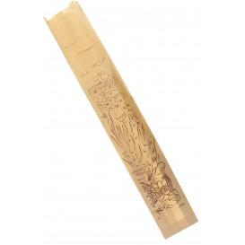 "Paper Food Bag ""Siega"" Kraft 9+5x50cm (1000 Units)"
