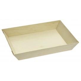 Wooden Tray 18x13x2,8cm 500ml (100 Units)