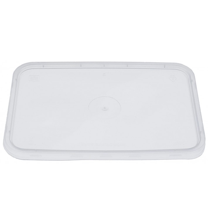 Plastic Lid Clear for Deli Container PP 500/750 y 1000ml (500 Units)
