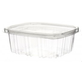 Plastic Hinged Deli Container OPS 250ml (60 Units)
