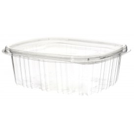 Plastic Hinged Deli Container OPS 375ml (1080 Units)