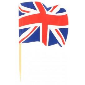 UK Flag Food Pick 6,5cm (14400 Units)