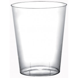 """Plastic Cup PS """"Moon"""" Clear 320ml (400 Units)"""