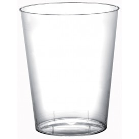 """Plastic Cup PS """"Moon"""" Clear 320ml (20 Units)"""