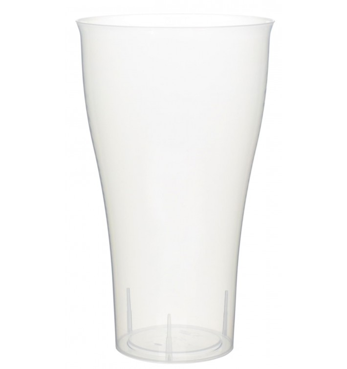 Plastic Cup PP Cocktail Clear 430ml (15 Units)