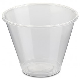 Plastic Container PP Clear 280ml Ø9,4cm (800 Units)
