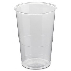 Plastic Cup PS Crystal Wrapped 250ml (50 Units)