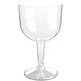 Reusable Plastic Glass for Gin PS Crystal 660ml 2P (6 Units)