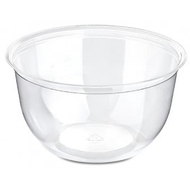 Plastic Cup PS Crystal Dessert or Ice Cream 230ml Ø9,4cm (50 Units)