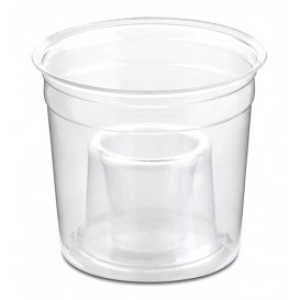 "Plastic Cup PS Crystal ""Shot Bomb"" 250ml (50 Units)"