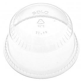 Plastic Dome Lid PET Crystal Ø9,2cm (50 Units)