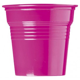 Plastic Shot PS Fuchsia 80ml Ø5,7cm (750 Units)