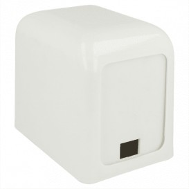 """Napkin Plastic Dispenser """"Miniservis"""" White 15x10x12,5cm (12 Units)"""