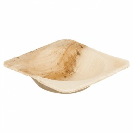 Palm Leaf Mini Bowl 5x5x2cm (25 Units)