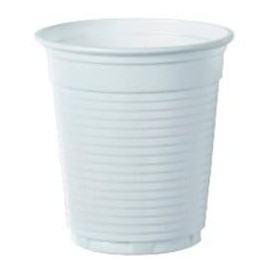 Plastic Cup PS Vending White 160 ml (100 Units)
