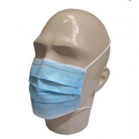"Disposable Surgical Mask Rectangular Shape ""TST"" Blue 3C (50 Units)"