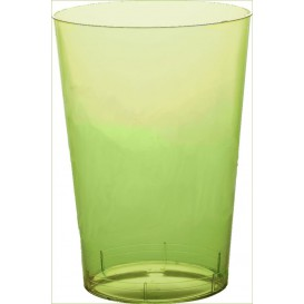 "Plastic Cup PS ""Moon"" Lime Green Clear 350ml (400 Units)"