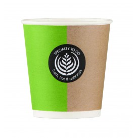 "Paper Cup ""Specialty to Go"" 4 Oz/120ml Ø6,2cm (2000 Units)"