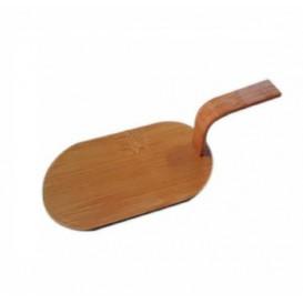 """Bambo Mini Shovel Tray Natural """"Tapas"""" 8x5 cm (100 Units)"""