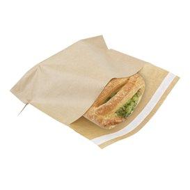 Paper Food Bag Autoseal Kraft 21x17cm (2400 Units)